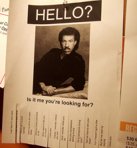 lionel richie finished
