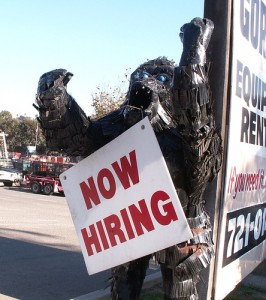 gorilla now hiring