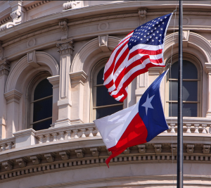 texas state house flag