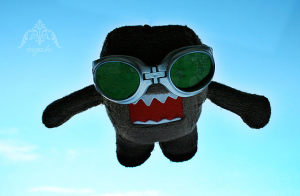 skydiving doll