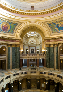 wisconsin state capital inside