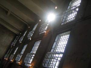 caged windows