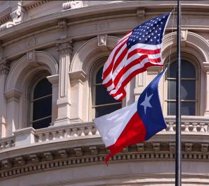 texas state house flag
